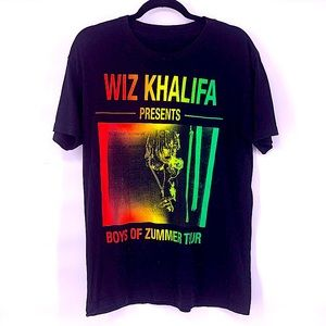Wiz Khalifa summer tour t shirt Size medium